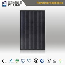Perlight 2017 Year Black 4BB 24v mono solar panel 270watt 280watt 290watt 300watt