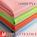 PU/PVC Coated 100% Polyester 1680D Oxford Fabric