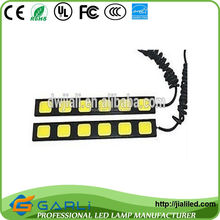 TS16949/ISO9001 Certification DRL 6COB 12VDC 10W WHITE For Dodge Journey JCUV Fiat Freemont LED Head Lamps