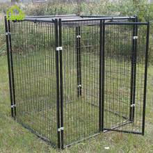 Waterproof Friendly Economical Galvanized Steel Pet Dog Kennel