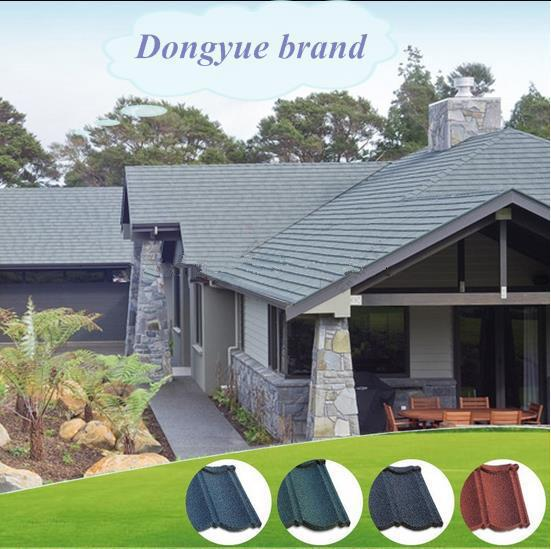 stone coated steel roof tile korea african thatch building materials roof shingle