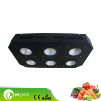 High Intensity Multifunctional led grow light for wholesales red/blue emittiing color magnetic induction 600w led grow light