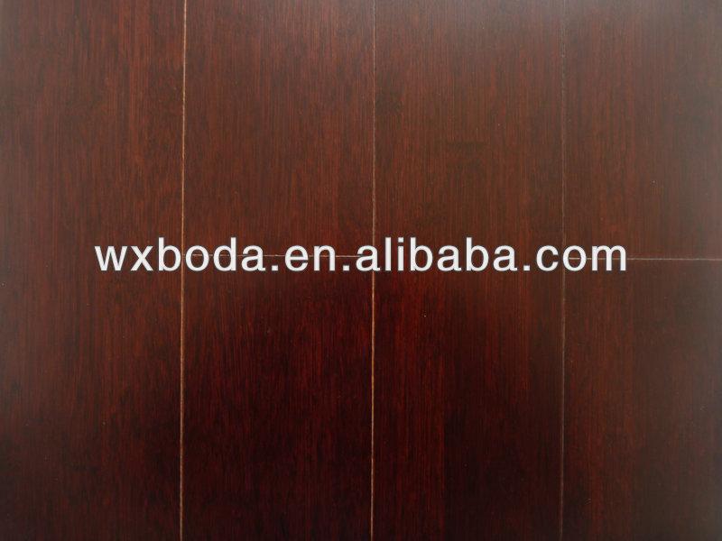 Manchado suelo de bamb s lido color cereza suelo de - Suelo de bambu ...
