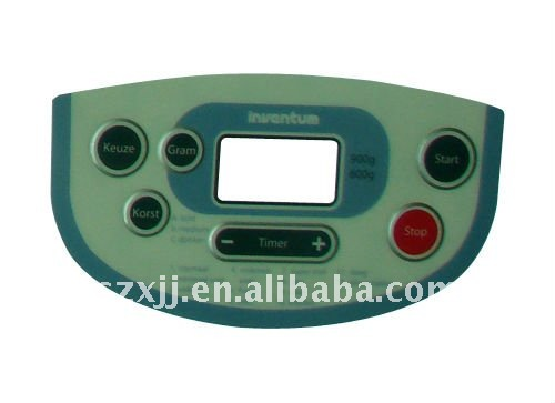 metal dome membrane switch with dust, water, oil and moisture resistance