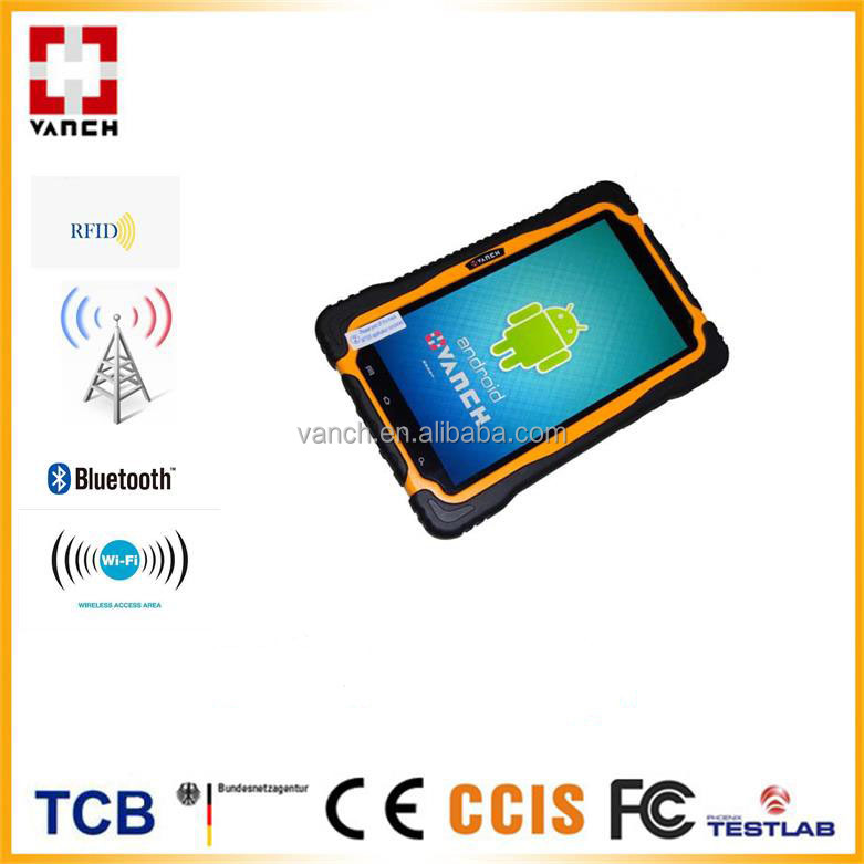 2m reading distance 7 inch android pda UHF RFID reader