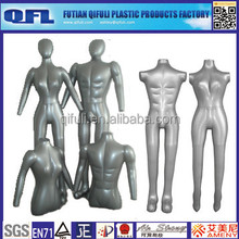 Cheap Plastic Inflatable Manenquin, Female/ Male Inflatable Mannequin on Sale