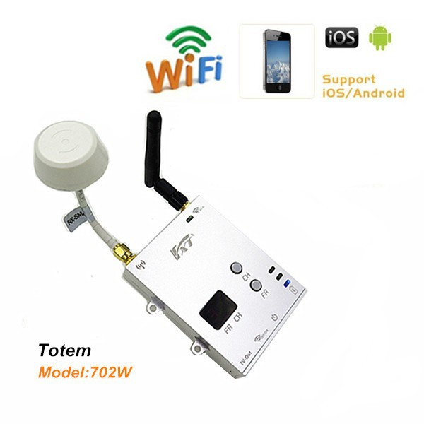 For DJI phantom 2 vision FXT Long Range FPV Totem 5.8GHz to WiFi converter,realtime video to iphone,ipad and android devices