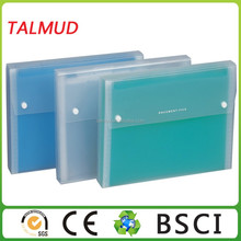 Various types PP file cover decoration
