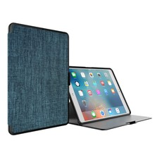 For IPad Pro 9.7 inch Case Fashion Canvas Book Design For iPad Hot Sale Back Cover