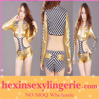 Wholesale PVC sexy club women western wear