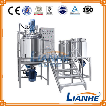 500L Vacuum homogenizing emulsifying machine, homogenizing emulsifying machine, mixer emulsions