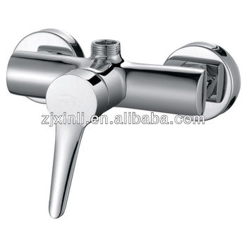 High Quality Brass Shower Mixer, Polish and Chrome Finish, Wall Mounted and Best Sell