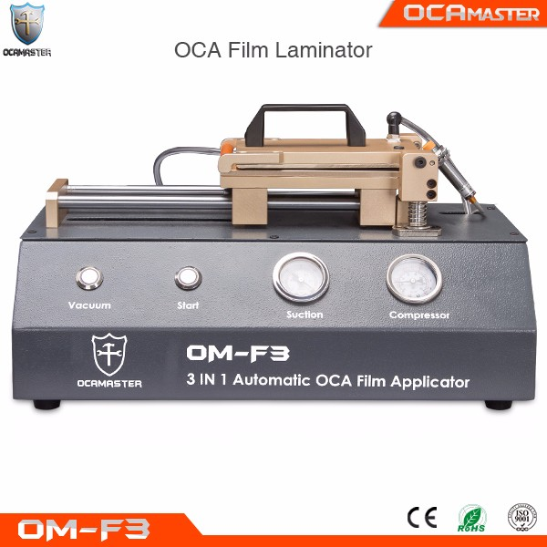 Automatic Film Laminator for Smart Phone LCD and Glass Repairing OM-F3