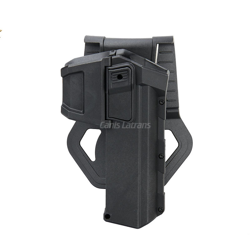 7-0057 Military Army Handgun Pistol Arms Airsoft Gun Accessory Tactical Movable leather gun holster for G17