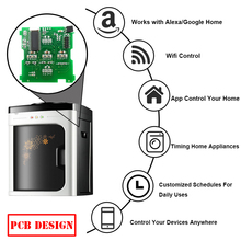 electric quick and instant hot water dispenser smart wifi control water dispenser pcb design