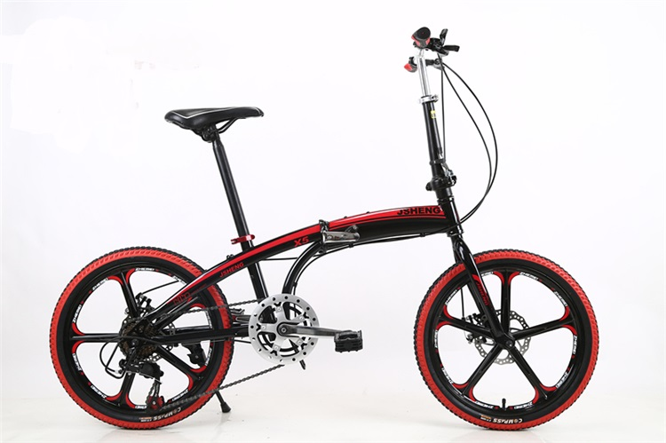 20 inch 7 speed Integral Wheel Bicycle bike folding bike