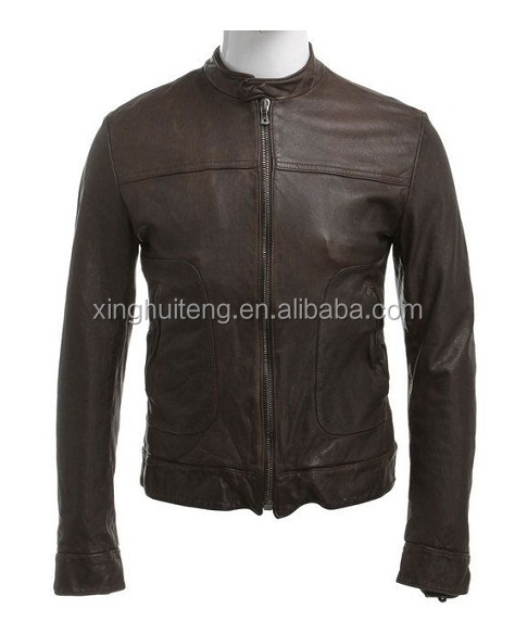 mens custom design in high quality leather jacket lahore