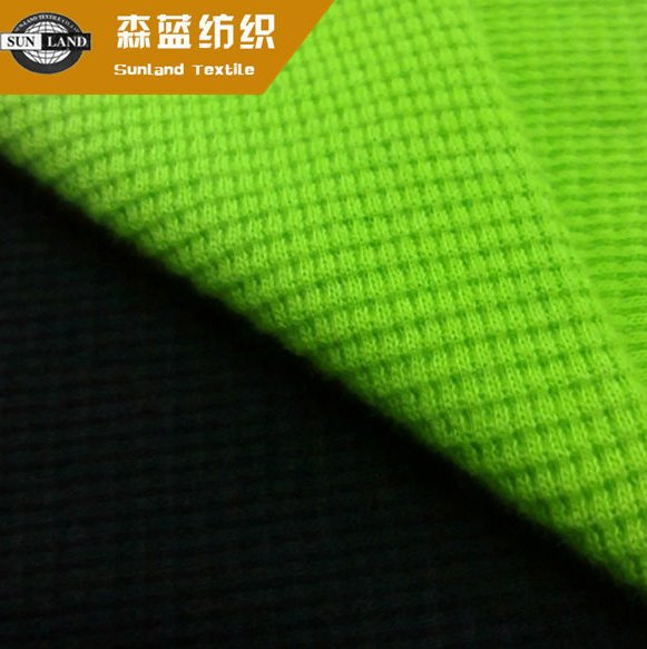 made in China basic garment clothing cotton or blended knit waffle fabric