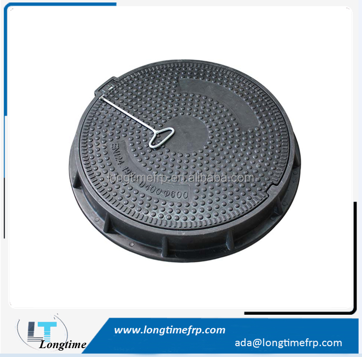 Plastic frp sewer manhole covers, Composite foot path cover, manhole lid
