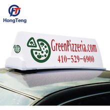 Outdoor PP material advertising led taxi top lights