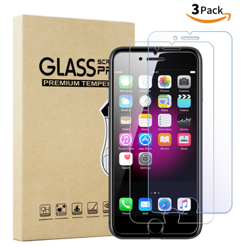 For iphone 6/7/8 Screen Protector, 2.5D 9H Tempered Glass Screen Protectors For iphone 8/7/6