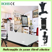 Desk Clip Mount Holder tablet aluminum stand for desk