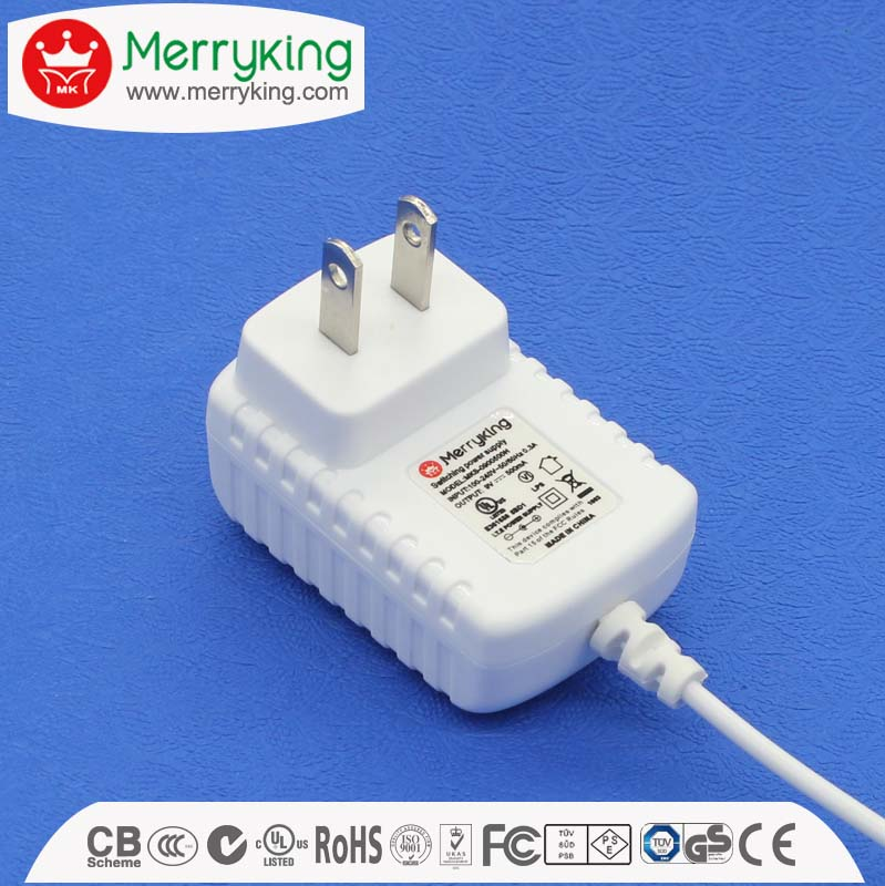 5v 6v 9v 12v dc power adapter,black/white phone ac dc transformer 12v 0.8a