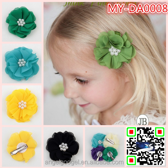 Handmade beaded hair accessories non slip headband flower hairband MY-DA0008