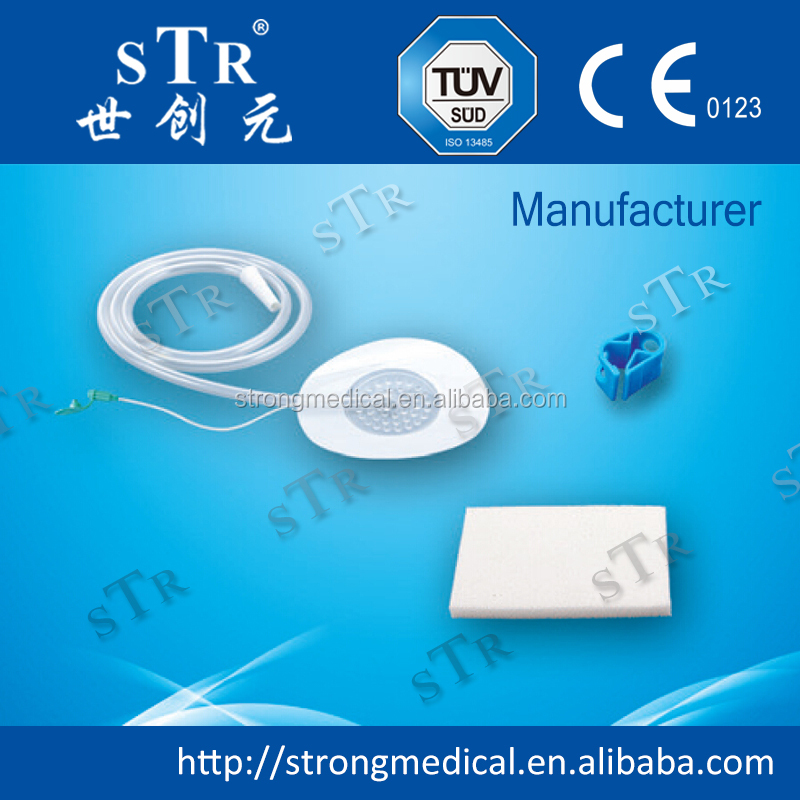 Medical Foam Material Accessories antibacterial Wound Dressing