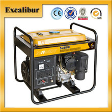 Model S4000 220V/ 3kw self-exciting small Robin type Single Phase Home Emergency Used Petrol generator for sale