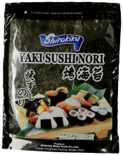 Basic material using for japanese yaki sushi nori