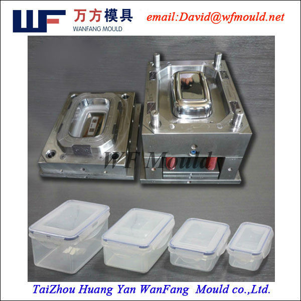 Fresh keeping box mould maker,plastic injection mould