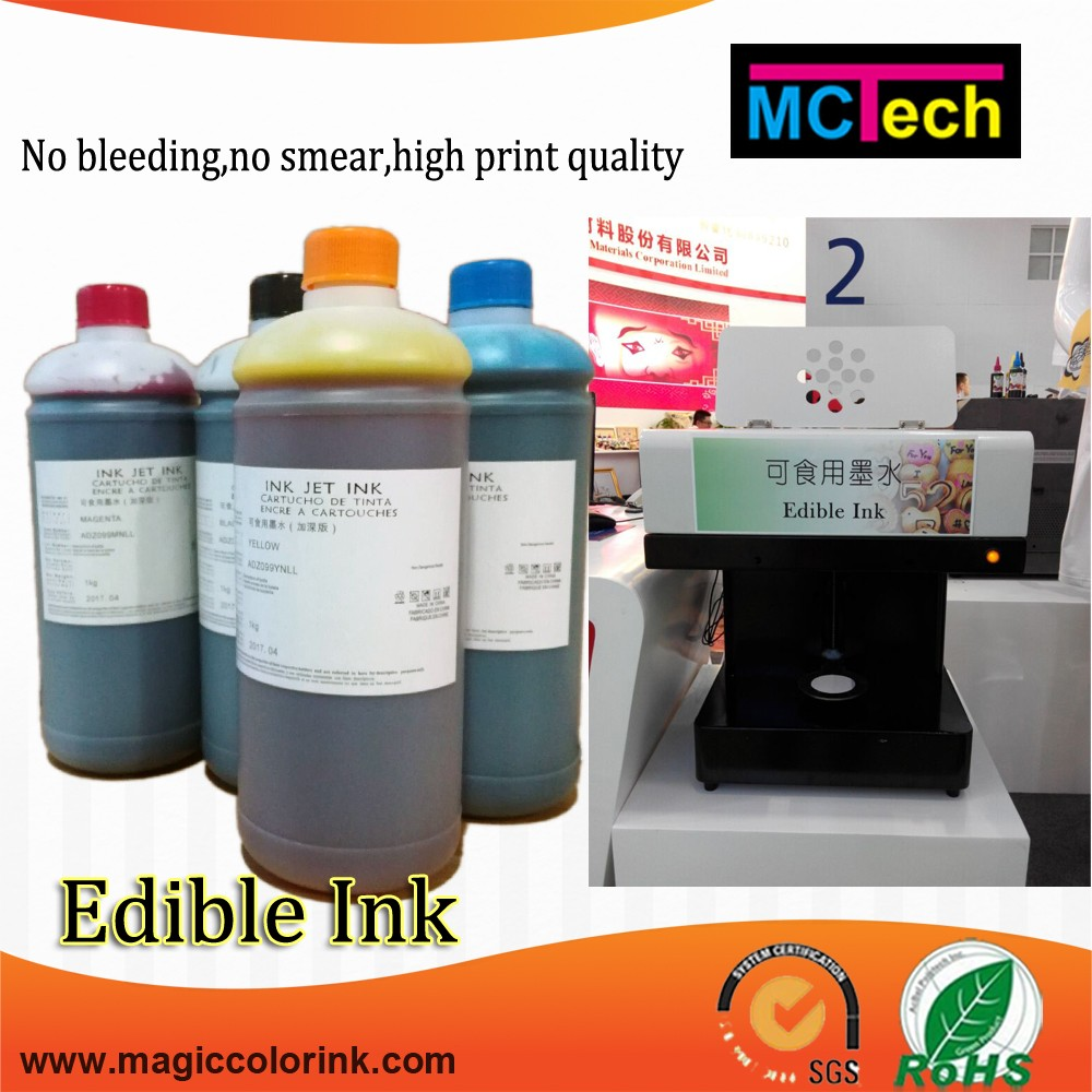 Food grade printing refill ink edible ink for canon pixma ip7240 mg5650 printer