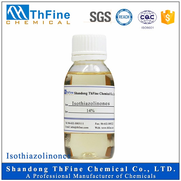 Excellent Isothiazolinone CMIT/MIT 14% Water Treatment Chemical Biocide