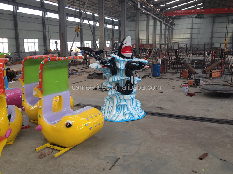 Theme Parks Family Entertainment Rides Shark Fighting Water Shooting Games