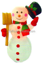 Customized Promotional Inflatable Unbonnet Snowman Noel Christmas Gifts Decorations