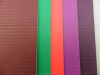 3 layers colored paper carton board sheets corrugated cardboard sheets