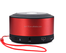 2017 mini wireless 3w led portable bluetooth speaker