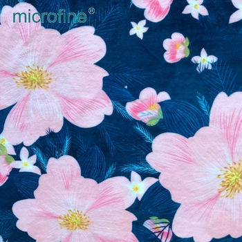 excellent quality digital printing woven soft velour home textiles fabric