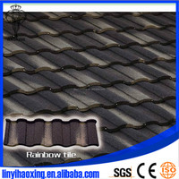 China factory price of the aluminum zinc metal stone coated roof tiles