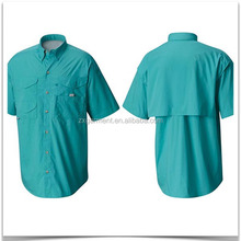 Available Multi Color Short-Sleeve UPF 50+ Vented Fishing Shirt