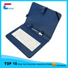 New design 2.0 USB/MINI USB/Micro USB Type android tablet pc 11.6 inch tablet pc leather keyboard case
