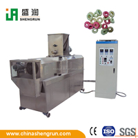 small steak flavoured crisp rice chip making machine