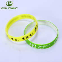 Promotional gifts custom varvious diy silicone bracelets