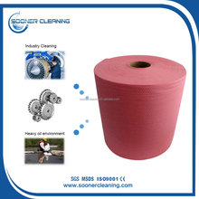 [Soonerclean] High Water Oil Absorbent Cellulose Pp Fabric Wipe