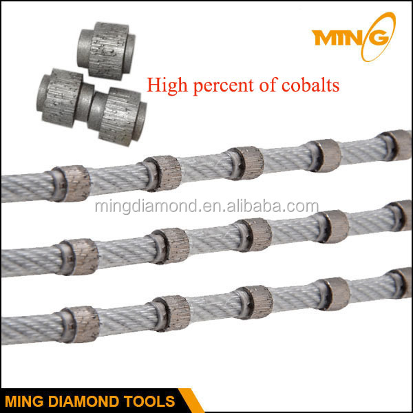 Stone Cutting Wire Saw For Multi Wire Machine With Small Wire Saw ...