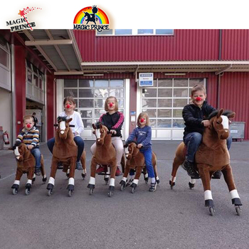 No Need Battery No Electric Just Human Power MechanICal Walking Horse For Sale ,Walking Horse Toy Pouplar In USA