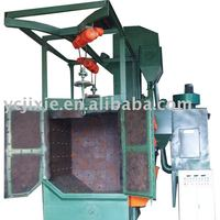 Q378E double hanger shot blasting machine/wheel blasting equipment