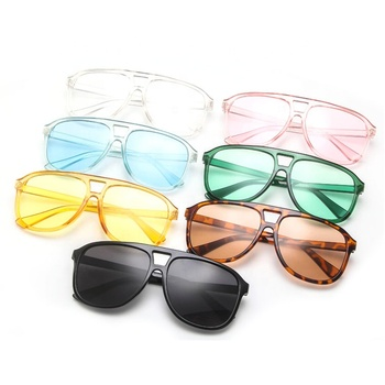 Wholesale Fashion Couple Transparent Sunglasses
