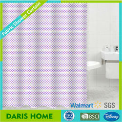 Water Resistant Textile Shower Curtain, Waterproof Home Goods Shower Curtain Pure Color Unique